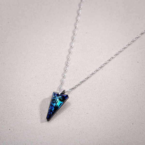 Ketting - Blue Triangle
