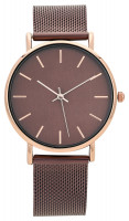 Uhr - Brown Mesh