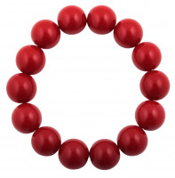 Bracelet - Perles rouges