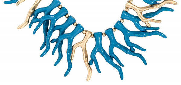 Ketting - Twisted Coral