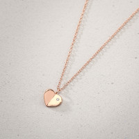 Ketting - Folded Heart