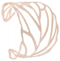 Breed armband - Rosegold