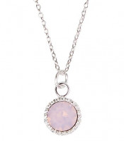 Necklace - Fine Rose Stone