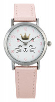 Horloge - Crowned Cat
