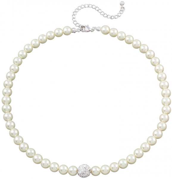 Collier a perle – strass