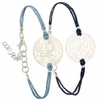 Pulsera - Silver and Blue