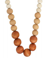 Collier - Wood Pearls