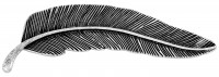 Broche - Fancy Feather