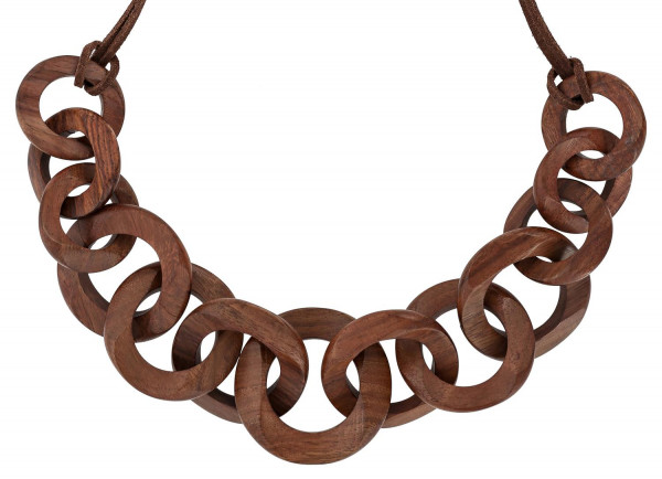 Ketting - Wooden Rings