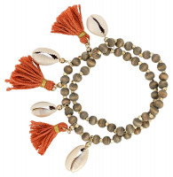 Armband-Set - Tassel Shell