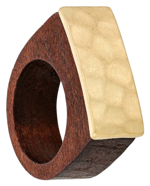 Ring - Golden Wood