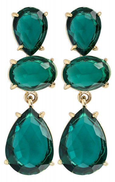 Pendientes - Glamour Green
