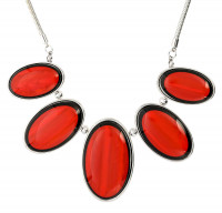 Ketting - Graceful Red