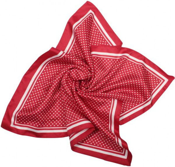 Bandana - Polka dots/red