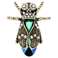 Broche - Sparkling Beetle