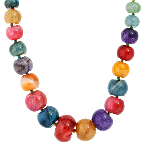 Ketting - Candy-Coloured Achat