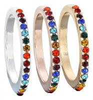 Set de anillos - Rainbow Dream