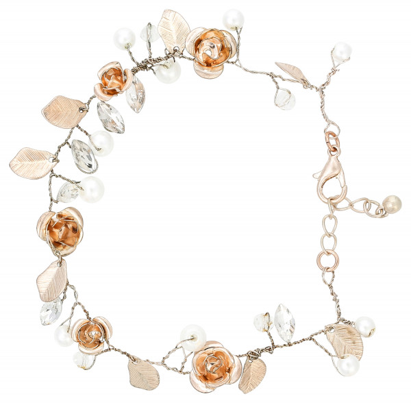 Pulsera - Flower Wedding