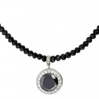 Collar - Black Sparkle