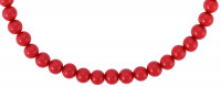 Collier - Red Pearls