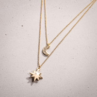 Kette - Pearly Star
