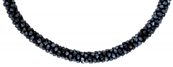 Collier - Black Crystals